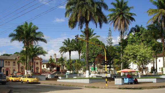 Parque principal de Mocoa-Putumayo