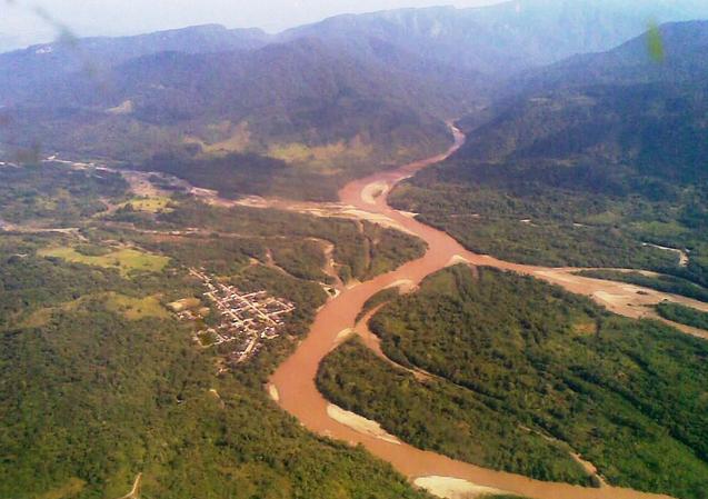 Vista aérea de Puerto Limón